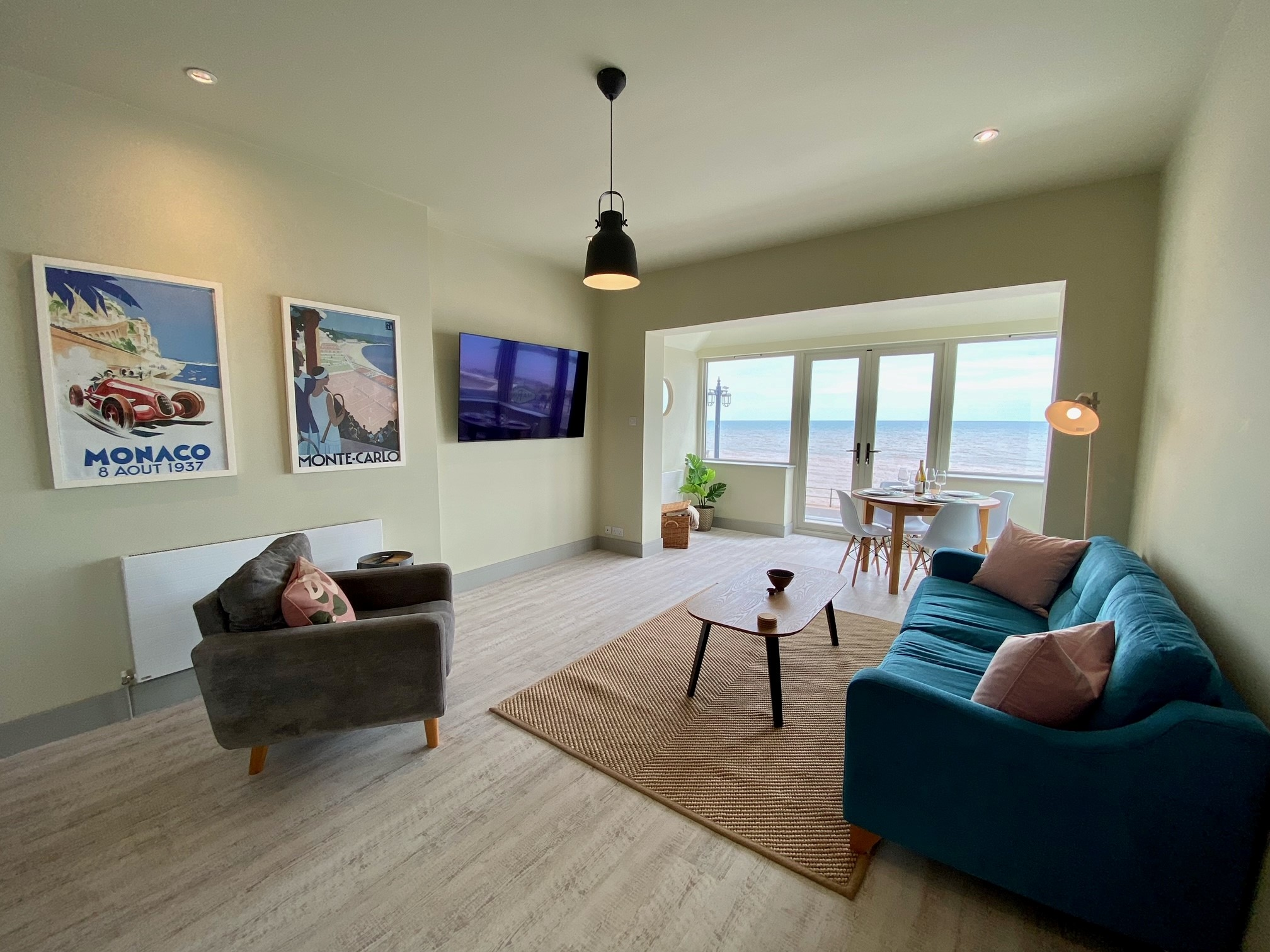The View Living Area
