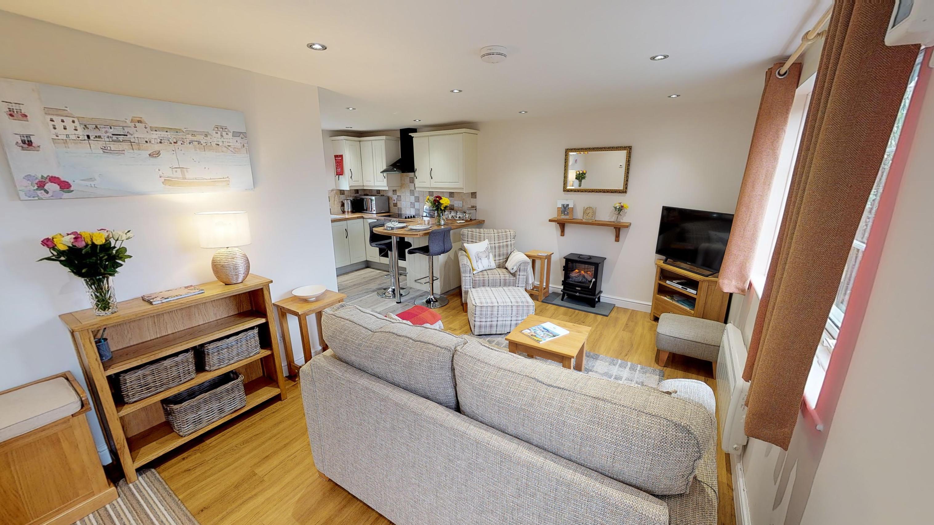 Avocet Cottage Living Room