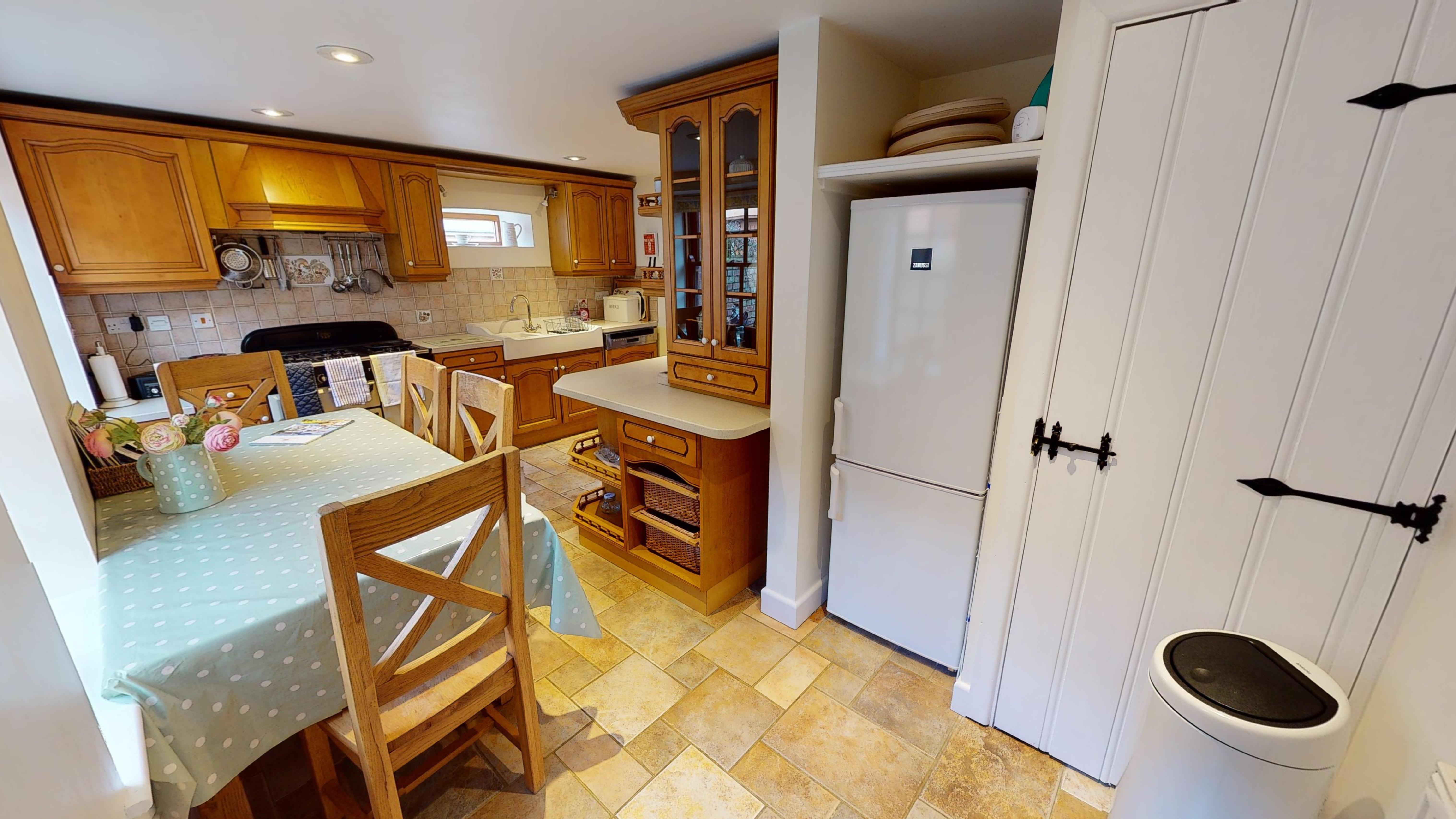 Stables Barn Kitchen 2