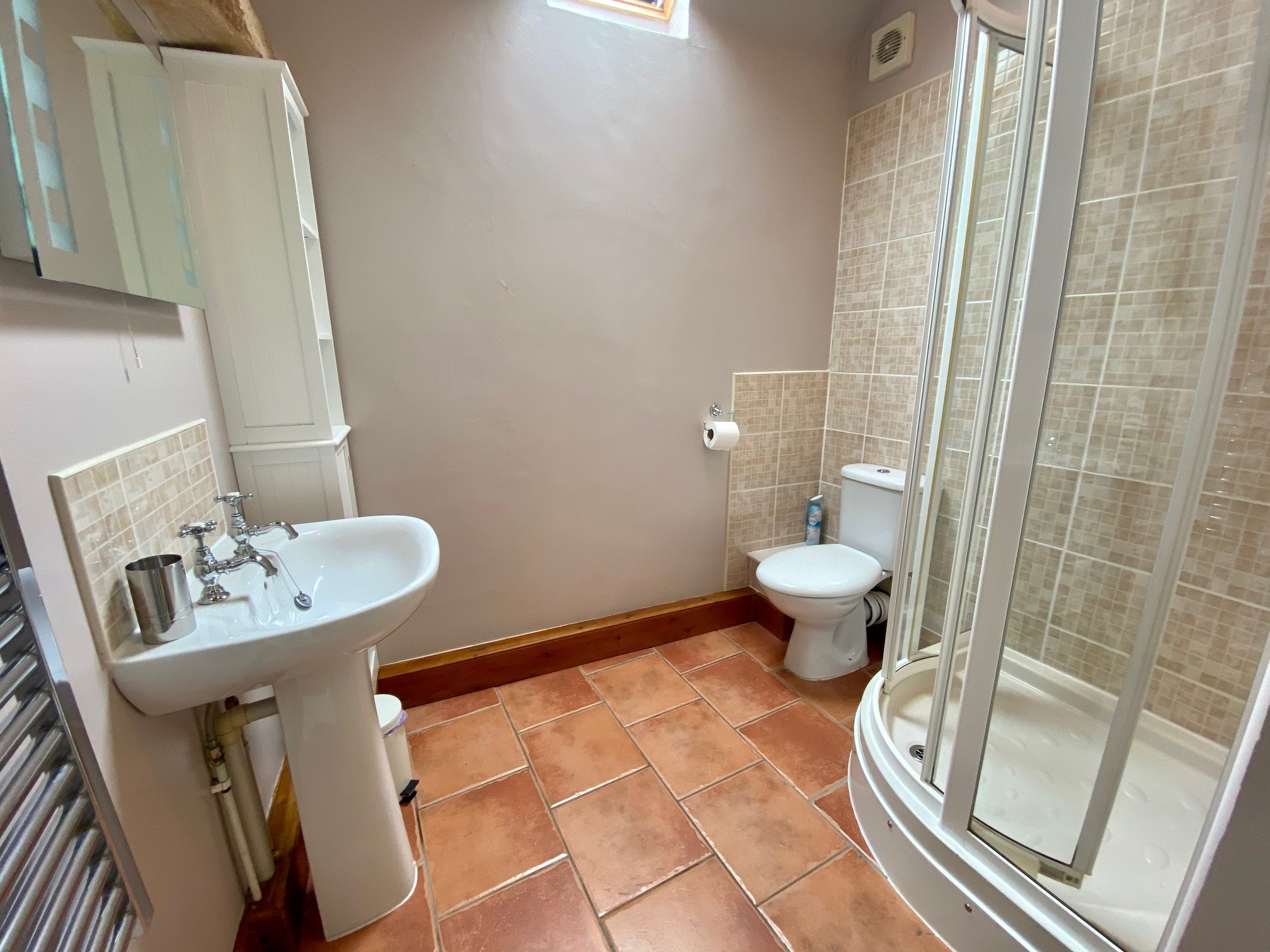 Whitley Farm Shower