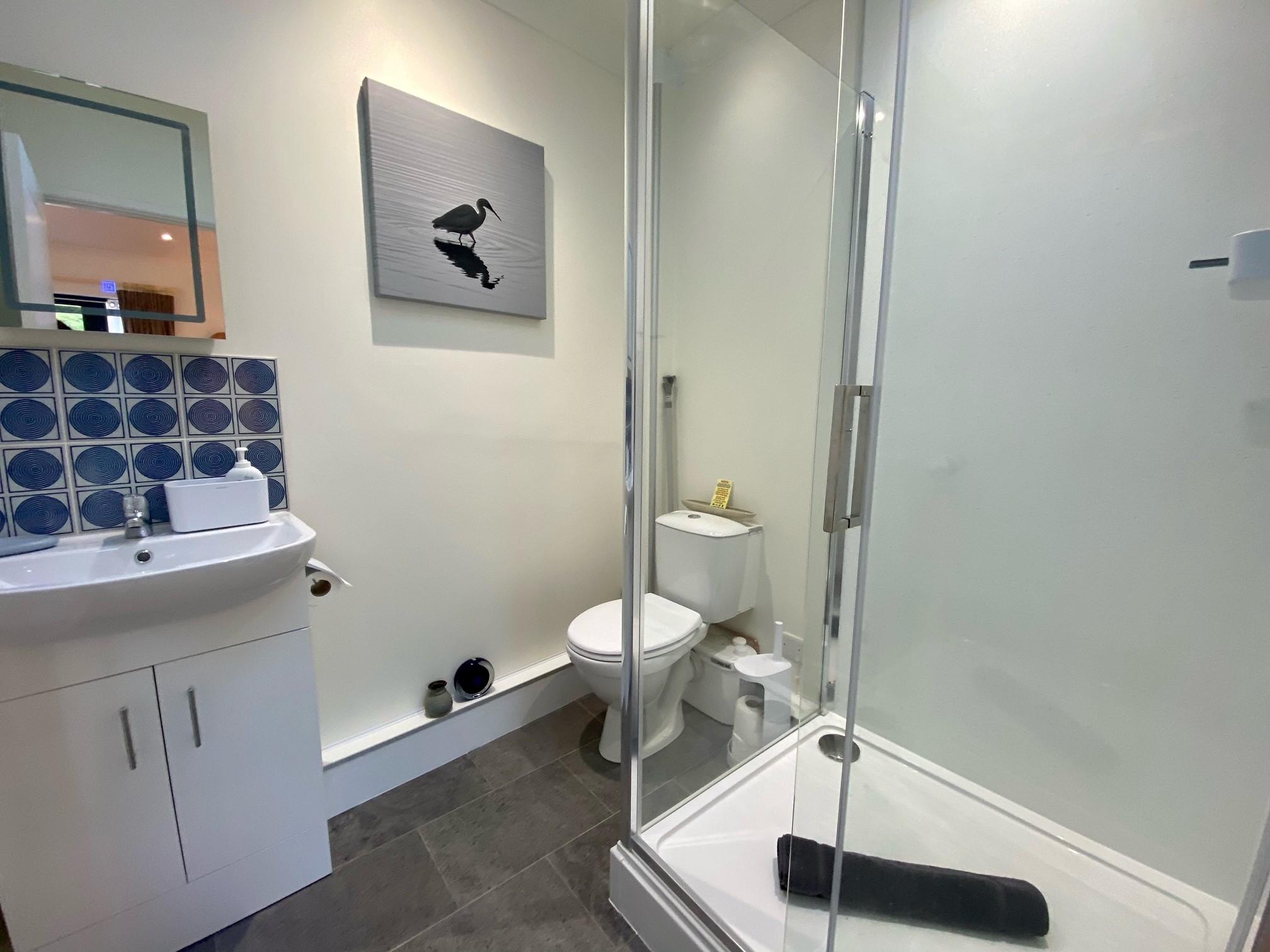 Farriers Retreat Shower
